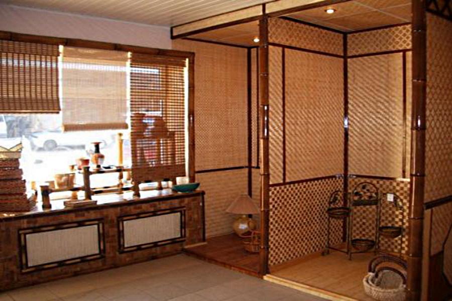 Внутренняя отделка бамбуковыми панелями - GreenhouseBay.ru